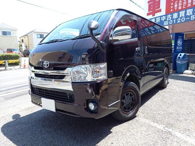 トヨタ ロングスーパーGL 4WDディーゼル 両側パワースライドドア LEDライト 社外テール 社外ナビ 地デジ バックカメラ ETC プッシュスタート