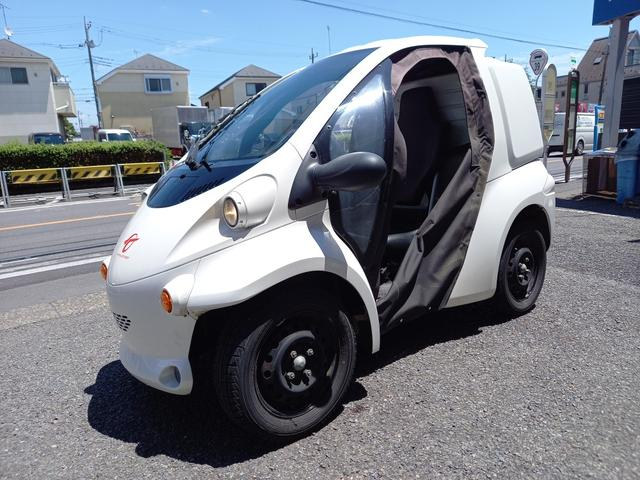 トヨタ トヨタ  トヨタコムス B.COMデリバリー 家庭用100V キャンバスドア 走行110キロ