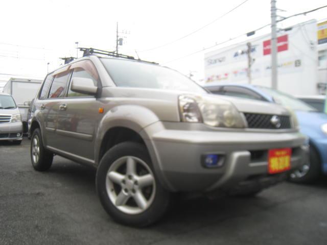 日産 X 4WD車 サンルーフ ルーフキャリア