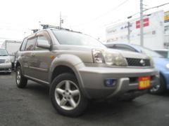エクストレイルX 4WD車 サンルーフ ルーフキャリア