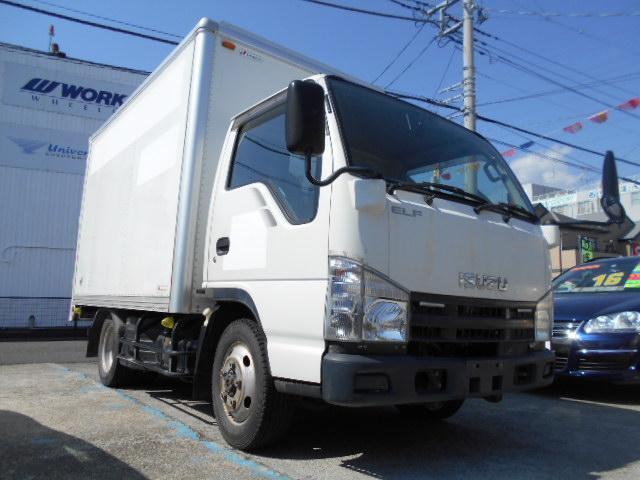 いすゞ エルフトラック ディ-ゼル パネルバン 1.5t積 4WD 観音扉