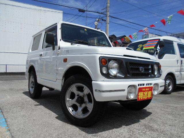 スズキ ジムニー ワイルドウインド 4WD 特別仕様車 社外CD