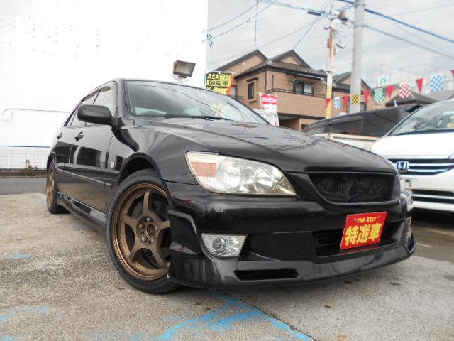 トヨタ RS200 Zエディション 6速車 タイミングV済 社外AW