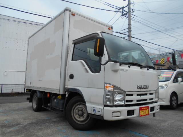 いすゞ エルフトラック  パネルバン 1.5t積載 スムーザーEX ディーゼルターボ 観音扉