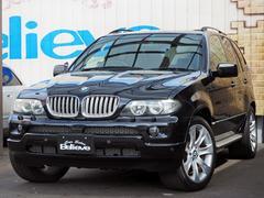 BMW X53.0i サンルーフ 黒革 ETC 社外HDDナビ Bカメラ