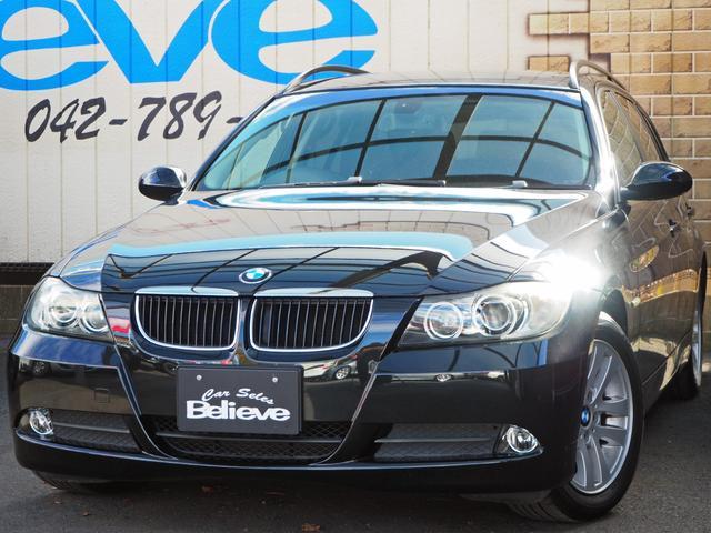 BMW 320iツーリング ETC社外HDDナビフルセグTV 保証付