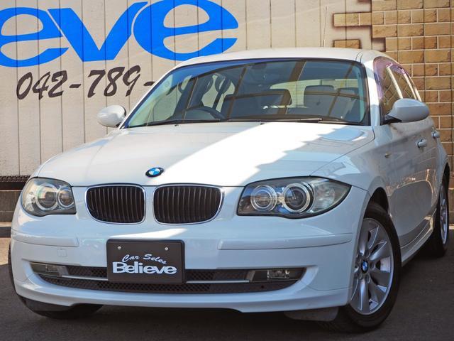 BMW 1シリーズ 116i 保証付き 社外メモリナビTV CD バックカメラ ETC 純正16インチAW プッシュスタート HID オールオートパワーウィンドウ キーレス チルト付き革ハンドル