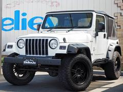 クライスラージープ ラングラースポーツ 社外18AW&オフタイヤ&オバフェン4WD 保証付