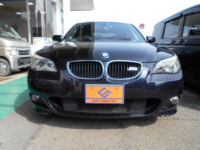 BMW 5シリーズ 525i Mスポーツパッケージ 地デジ バックカメラ 取説 保証書 記録簿付き 純正18インチアルミ ビルトインETC