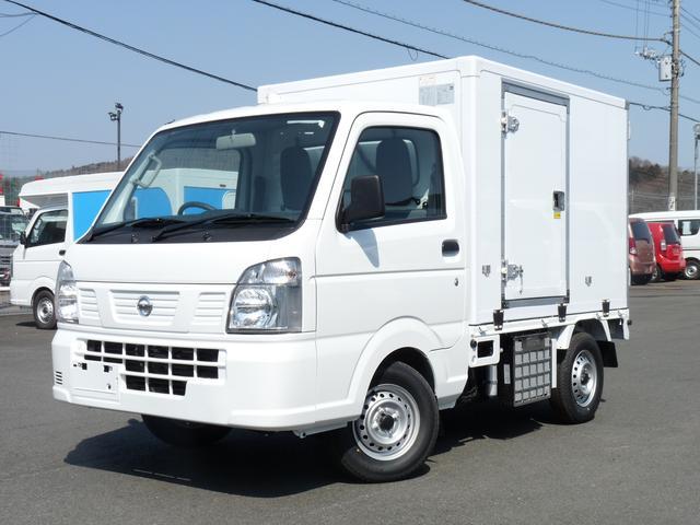 日産 東プレ製冷蔵冷凍車 中温 4WD MT