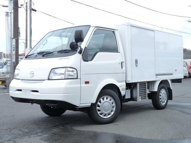 マツダ 冷蔵冷凍車 中温仕様 TESMA車 ロングDX 2WD AT