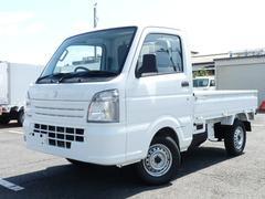 キャリイトラックエアコン パワステ 三方開 4WD MT キーレス PW