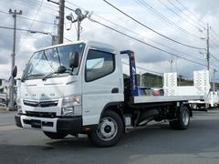 キャンター極東製 3.3t 積載車 フラトップZero