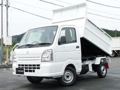 キャリイトラック新明和製 清掃ダンプ 4WD MT キーレス PW