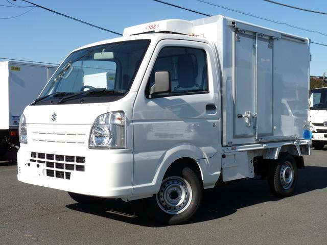スズキ 菱重コールドチェーン製冷蔵冷凍車 低温仕様 2コンプ