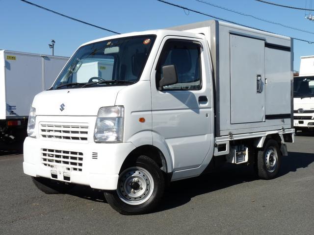スズキ キャリイトラック サーモキング製冷蔵冷凍車中温 (検31.12)