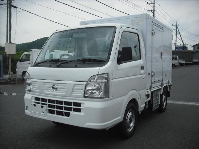 日産 東プレ製 冷蔵冷凍車 中温 2WD AT