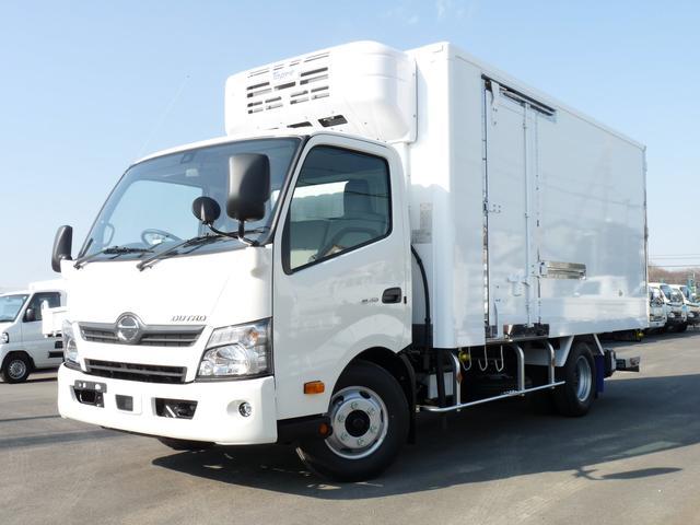 日野 東プレ製低温冷蔵冷凍車 3tワイドロング PG付