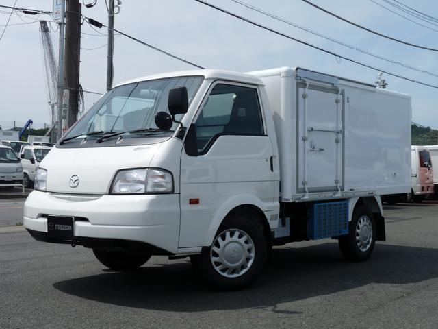 マツダ 純正冷蔵冷凍車・低温仕様・TESMA車・日本トレクス製