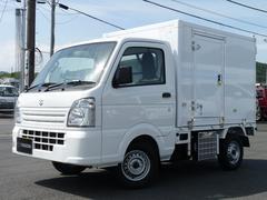 キャリイトラック東プレ製・冷蔵冷凍車・中温・2WD・MT