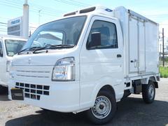 キャリイトラックサーマルマスター製冷蔵冷凍車・低温・2コンプ・キーレス・PW