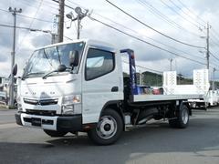 キャンター極東製3.3t積載車・フラトップゼロ