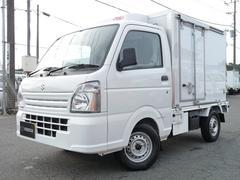 キャリイトラック菱重コールドチェーン製・冷蔵冷凍車・低温2コンプ2WD・AT
