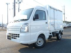 キャリイトラック菱重コールドチェーン製・冷蔵冷凍車・中温2コンプ2WD・AT
