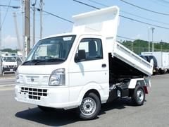 NT100クリッパートラック新明和製強化ダンプ・4WD・AT