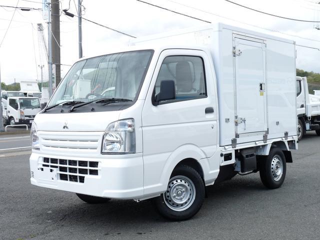三菱 東プレ製・冷蔵冷凍車・中温・2WD・AT
