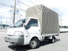 バネットトラックDX・スーパーローWタイヤ・1t・幌