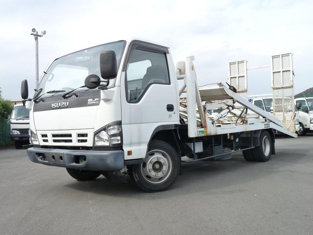 いすゞ 花見台製3.5t・2台積み積載車