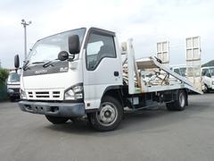 エルフトラック花見台製3.5t・2台積み積載車