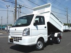 キャリイトラック新明和製・清掃ダンプ・4WD・MT【軽ダンプ】
