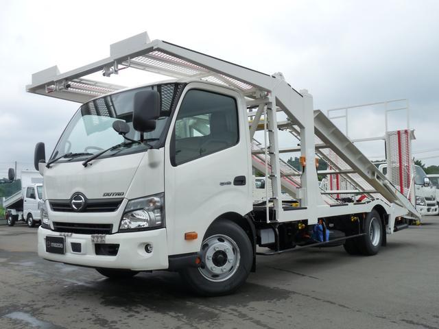 日野 2.85t・アジア工業製・3台積・積載車
