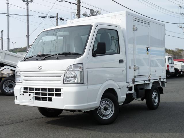 スズキ 東プレ製冷蔵冷凍車・中温・4WD・AT・PW・キーレス