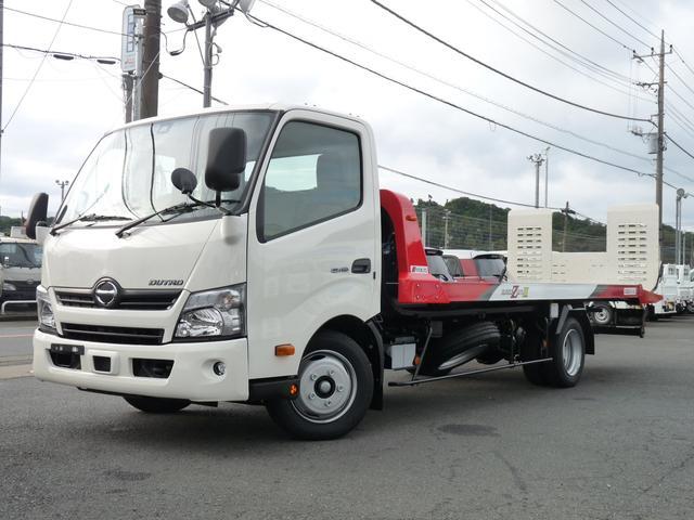 日野 極東製・3t積載車・フラトップゼロII・VSC・PCS付