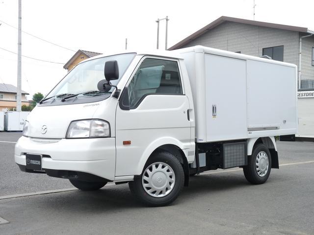 マツダ 冷蔵冷凍車・中温・ロングDX・TESMA車・日本トレクス製