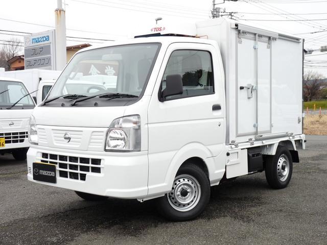 日産 菱重製・軽冷凍車・2コンプ・低温・4WD・AT
