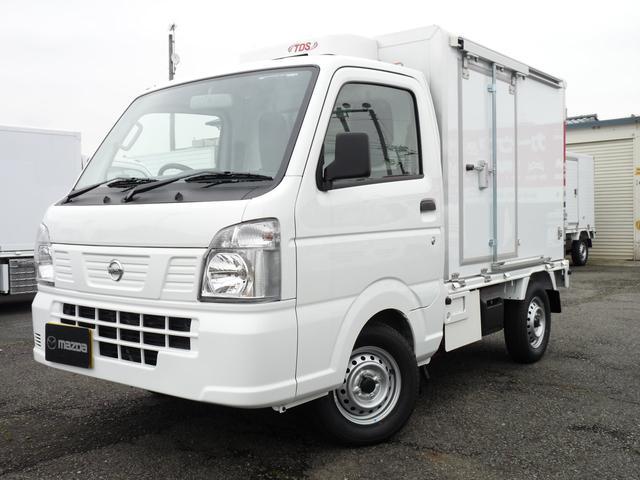 日産 菱重製・軽冷凍車・低温・2WD・MT・2コンプ