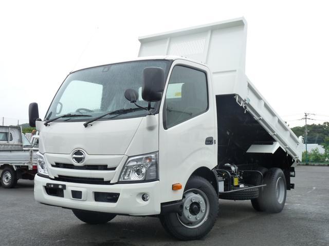 日野 3.75t・花見台製ワイドローダーダンプ・PCS