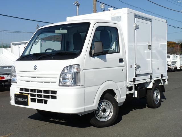 スズキ キャリイトラック 東プレ製・冷蔵冷凍車・中温・2WD・MT・PW・キーレス