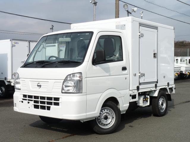日産  東プレ製・冷蔵冷凍車・中温・片側サイドドア・2WD・AT