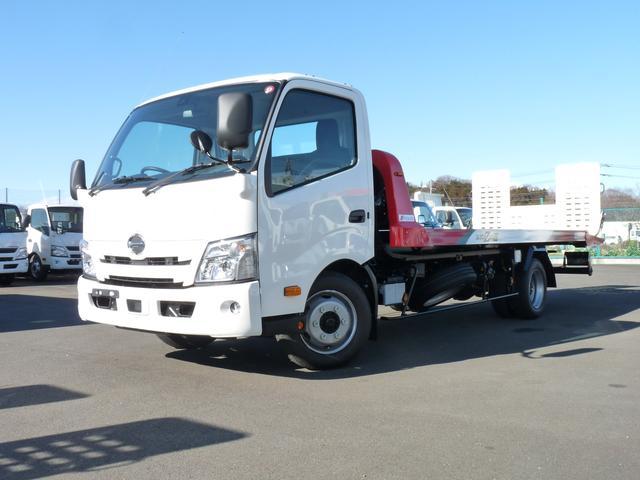 日野  3t・極東製積載車・フラトップセロII・スマートキー・PCS・LDWS・VSC