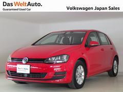 VW ゴルフ40thエディション 特別仕様車輌限定2,000台 試乗車輌