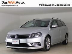VW パサートヴァリアントRラインエディションキセノンライトワンオーナー 認定中古車