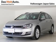 VW ゴルフヴァリアントTSI コンフォートライン 禁煙 ワンオーナー DWA認定車