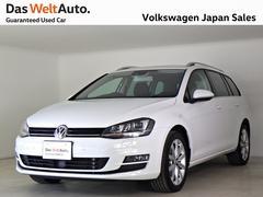 VW ゴルフヴァリアントTSIハイライン ディスカバープロPG 禁煙ワンオーナDWA