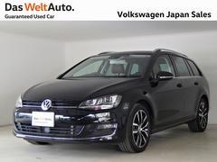 VW ゴルフヴァリアントTSIハイライン DCC受注生産マラケシュレザーPKG 禁煙