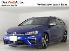 VW ゴルフRヴァリアントトラフィックアシスト搭載2016年モデル 禁煙使用認定中古車